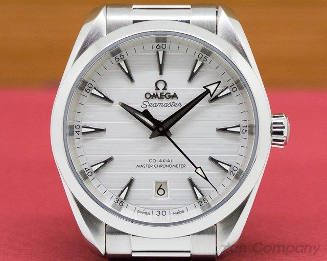 Omega 220.10.38.20.02.001 Seamaster Aqua Terra Co-Axial Master Silver Dial SS / SS