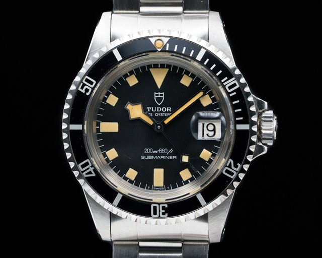 "Tudor 94110 Submariner ""Snowflake"" Black Matte Dial SS BOX + PAPERS WOW"