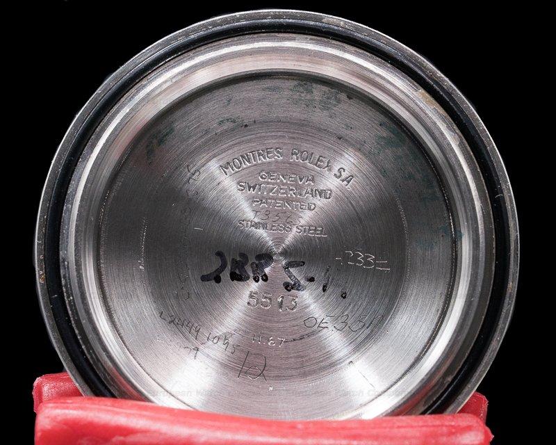 "Rolex 5513 Vintage Submariner 5513 ""Meters First"" ""Kissing 40"" Bezel"