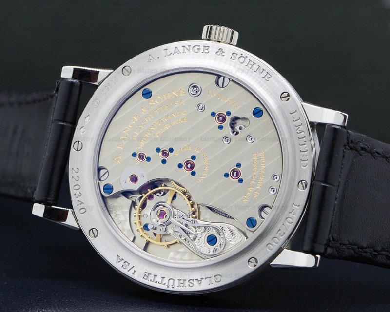 A. Lange and Sohne 236.049 200th Anniversary F.A Lange 1815 Platinum Black Dial