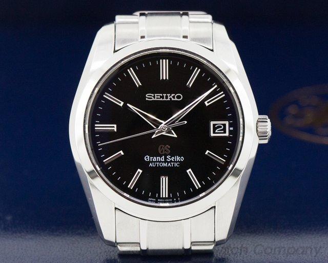 Grand Seiko SBGR023 Grand Seiko Automatic SBGR023 SS / Black Dial