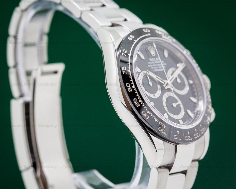 Rolex 116500LN Daytona Ceramic Bezel SS / Black Dial UNWORN