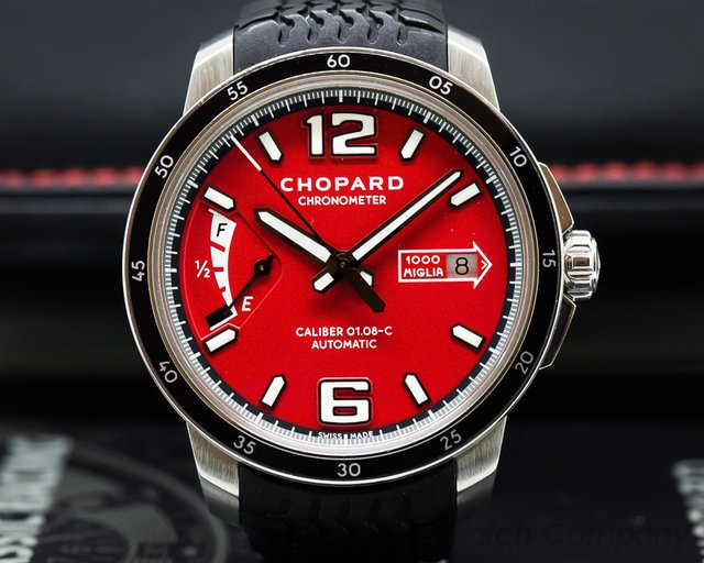Chopard 168566-3002 Mille Miglia GTS Power Control SS / Rubber LIMITED