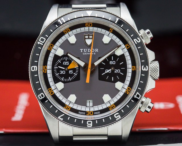 Tudor 70330N Heritage Chronograph Grey Dial SS / SS