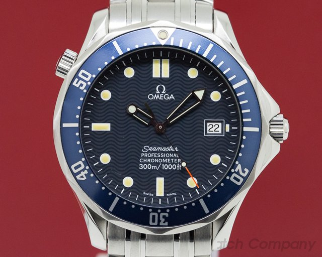 Omega 2531.80 Seamaster Professional Blue Dial SS