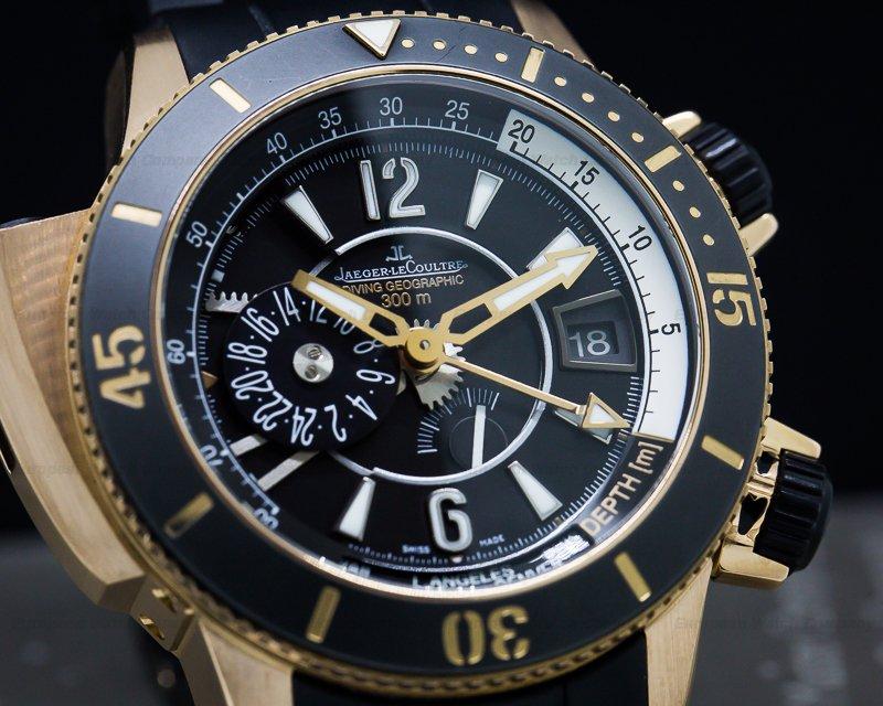 Jaeger LeCoultre Q1852670 Master Compressor Diving Pro Geographic Navy Seals 18K Rose Gold