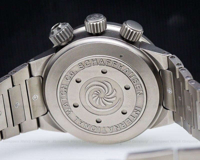 IWC 3527 GST Deep One Titanium RARE / Full Set