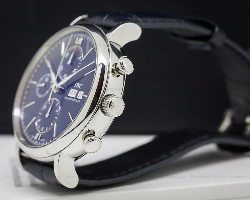 IWC IW391019 Portofino Chronograph Limited Edition Blue Dial SS