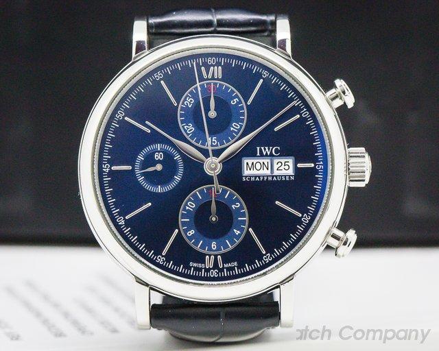 IWC IW391019 Portofino Chronograph Limited Edition Blue Dial SS