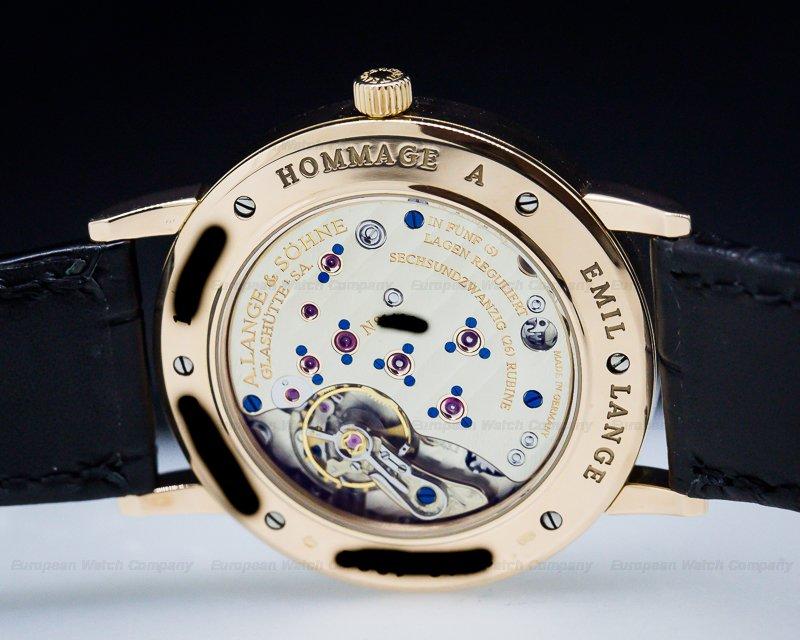 A. Lange and Sohne 231.031 1815 Moonphase Homage to Emil Lange Rose Gold Limited