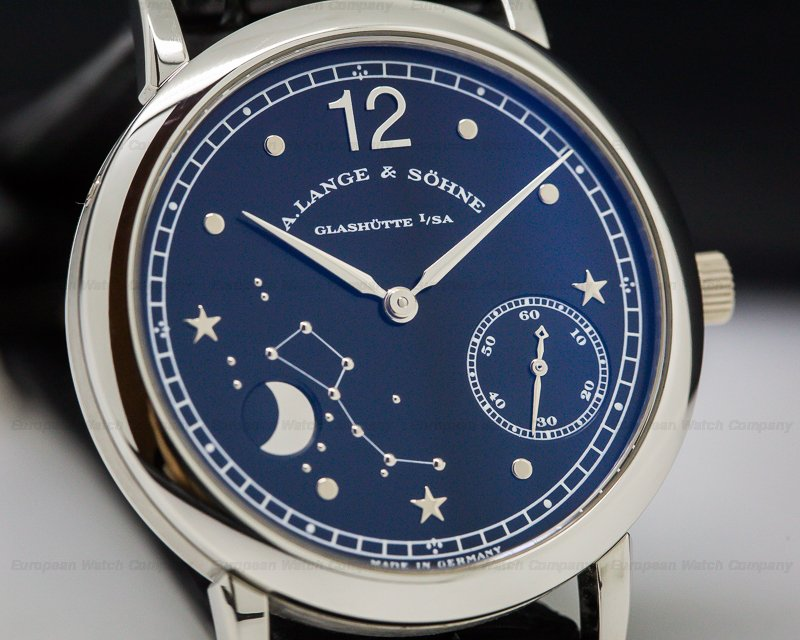 A. Lange and Sohne 231.035 1815 Moonphase Homage to Emil Lange Platinum Limited