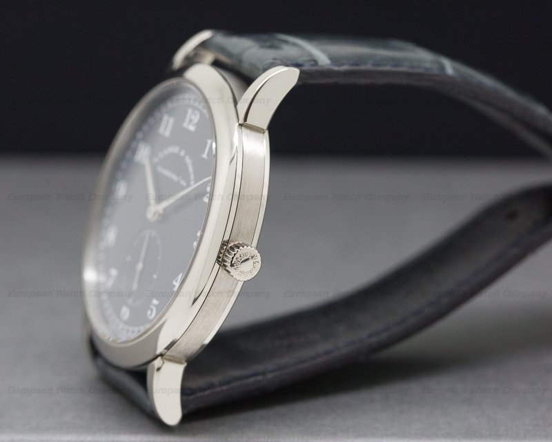 A. Lange and Sohne 206.027 1815 18K White Gold Blue Dial