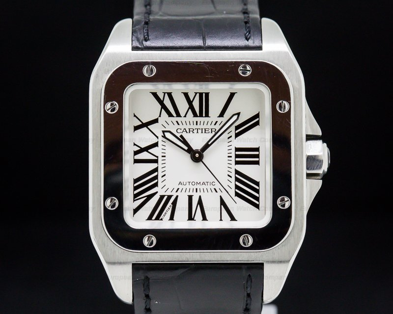 Cartier W20106X8 Santos 100 SS Medium Automatic