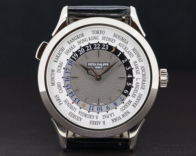 Patek Philippe 5230G-001 World Time White Gold UNWORN