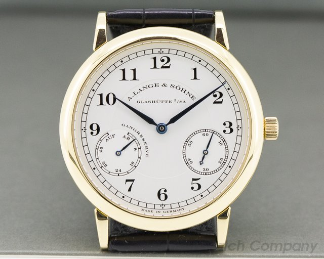 A. Lange and Sohne 221.021 1815 Up & Down 18K Yellow Gold