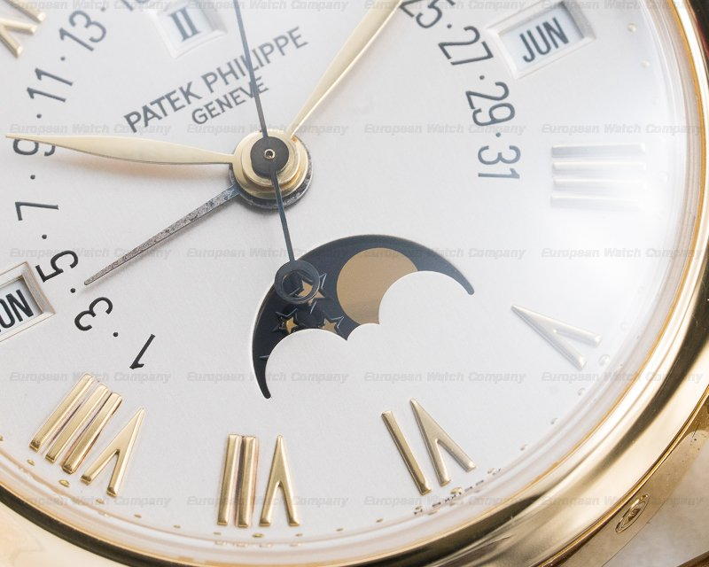Patek Philippe 5050J Retrograde Perpetual Calendar 18K Yellow Gold