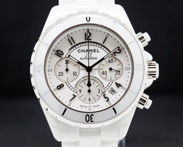 Chanel H1007 J12 Automatic Chronograph White Ceramic