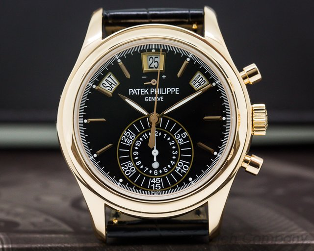 Patek Philippe 5960R-010 Annual Calendar Chronograph 18K Rose Gold