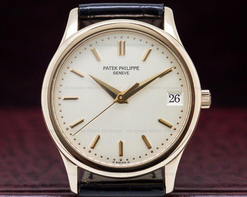 Patek Philippe 3998R Calatrava Automatic 18K Rose Gold