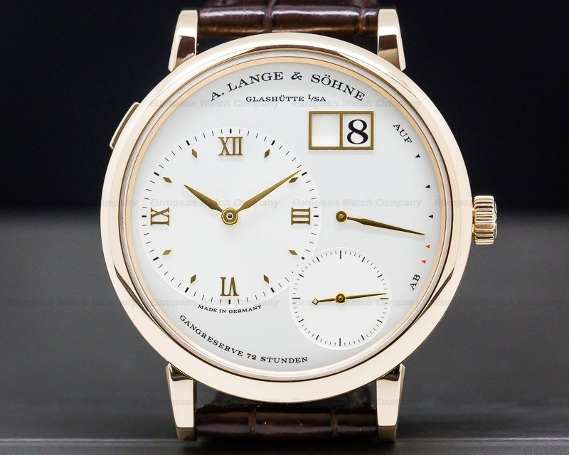 A. Lange and Sohne 117.032 Grand Lange 1 18K Rose Gold