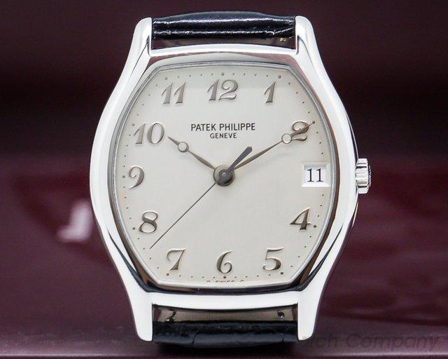 Patek Philippe 5030P-001 Gondolo Tonneau Platinum / Breguet Numerals RARE