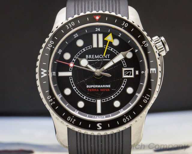 Bremont  Supermarine Terra Nova GMT LIMITED