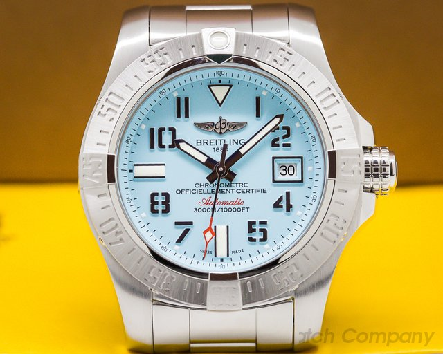 Breitling A173316A/L532 Avenger II Seawolf Boutique Edition SS / Blue Dial Limited