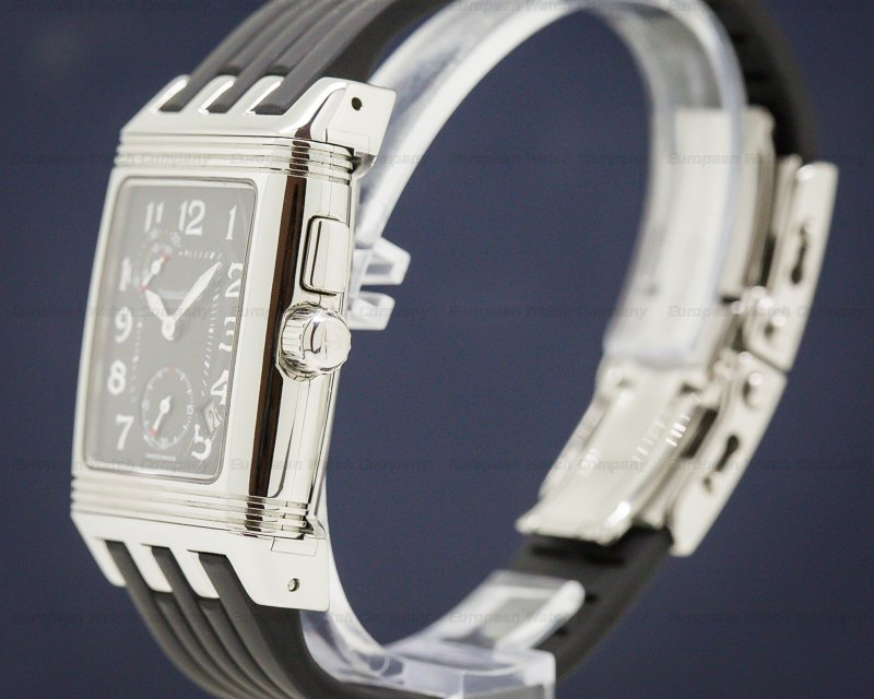 Jaeger LeCoultre Q294.81.02 Gran'Sport Duo SS / Rubber Strap