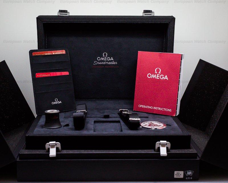 Omega 311.30.42.30.01.005 Speedmaster Professional Black Dial SS / SS