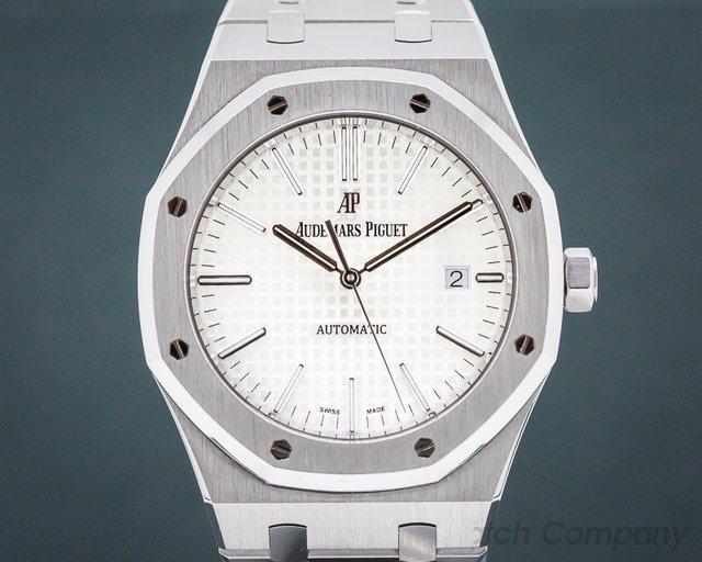 Audemars Piguet 15400ST.OO.1220ST.02 Royal Oak White Dial SS / SS