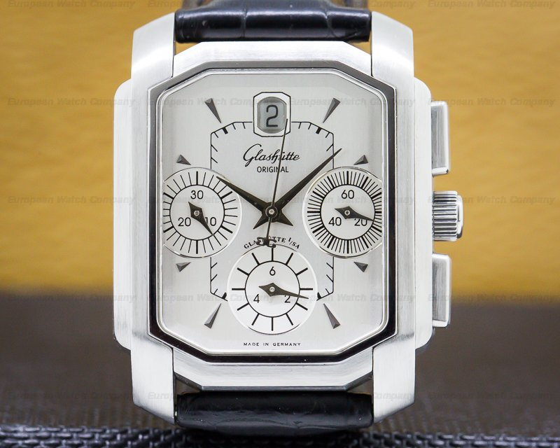 Glashutte Original 39-31-06-04-04 Senator Karree Chronograph SS