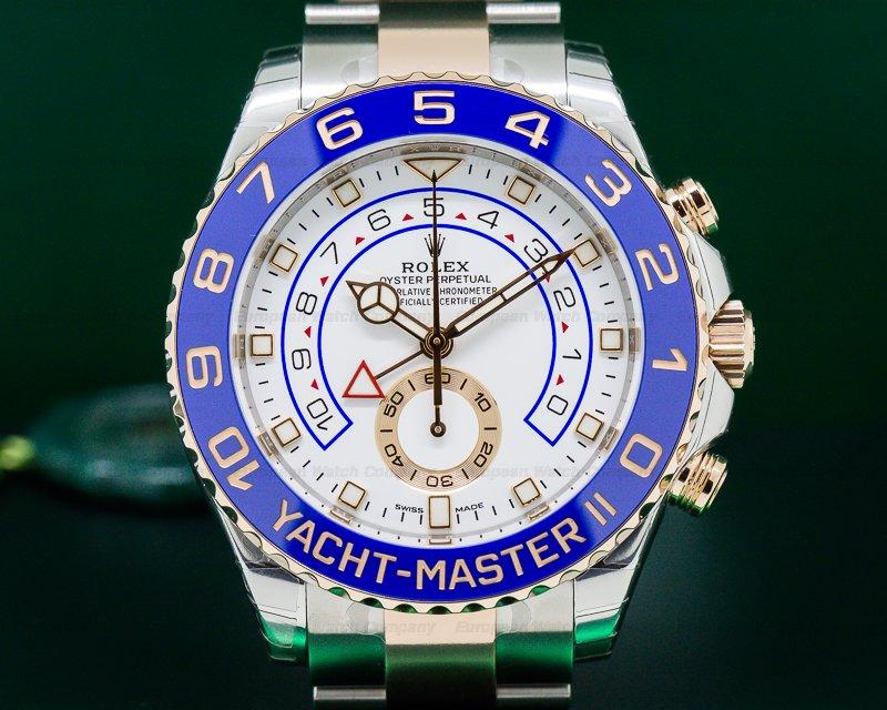 Rolex 116681 Yacht Master II SS / 18K Rose Gold UNWORN