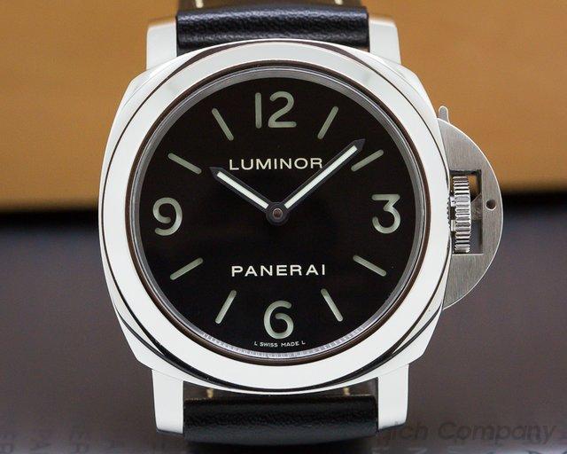 Panerai PAM00112 Luminor Base SS Manual Wind 44MM