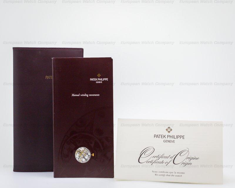 Patek Philippe 5196R-001 Calatrava Manual Wind 18K Rose Gold