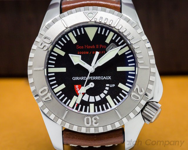 Girard Perregaux 49941-21-631-HDBA Sea Hawk II Pro Titanium / Leather