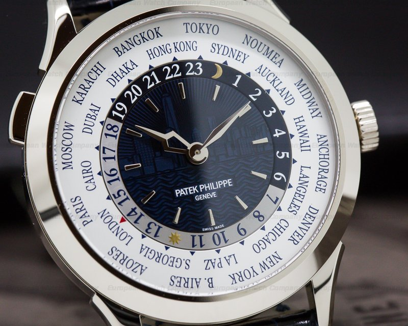 "Patek Philippe 5230G NEW YORK World Time 2017 Limited Edition"" UNWORN"