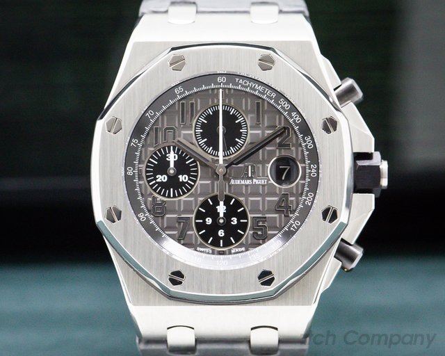 Audemars Piguet 26470ST.OO.A104CR.01 Royal Oak Offshore Slate-Grey Dial SS / Deployant