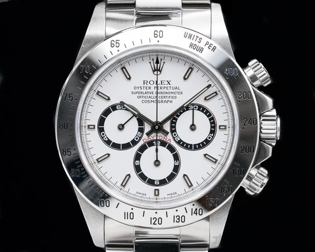 Rolex 16520 Daytona SS White Dial Zenith Movement A Series INCREDIBLE CONDITION