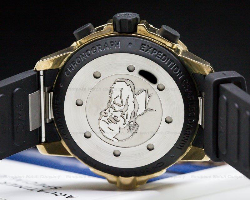IWC IW379503 Aquatimer Chronograph Expedition Charles Darwin Bronze
