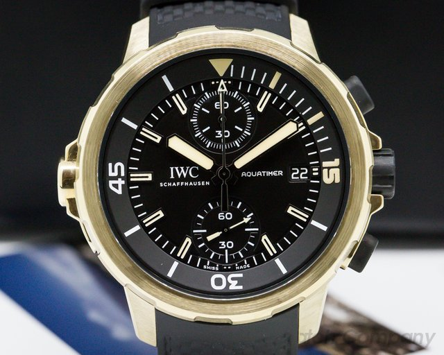 IWC IW379503 Aquatimer Chronograph Expedition Charles Darwin Bronze