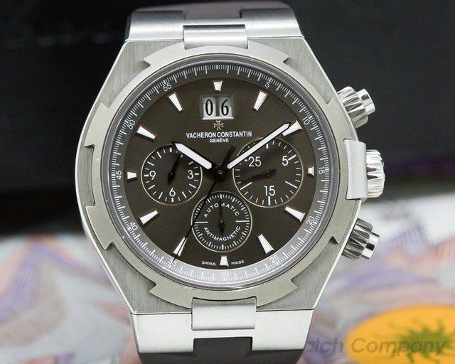 Vacheron Constantin 49150/000W-9501 Overseas Chronograph SS Gray Dial / Rubber