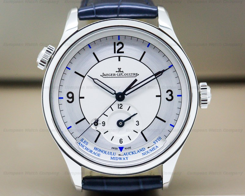 Jaeger LeCoultre Q1428530 Master Geographic SS SECTOR DIAL 39MM
