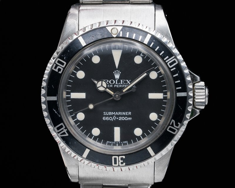 Rolex 5513 Vintage Matte Maxi Dial Submariner GREAT PATINA