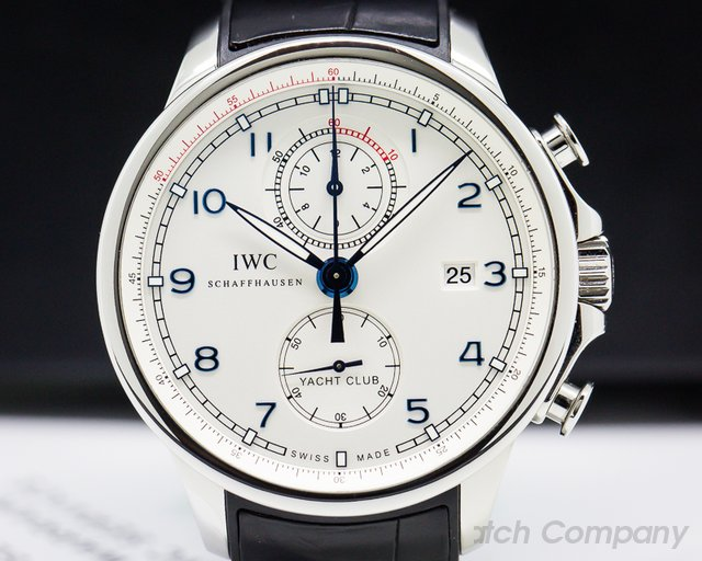 """IWC IW390216 Portuguese Yacht Club Flyback """"Ocean Racer"""" SS LIMITED"""