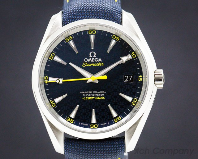 Omega 23110422103004 Aqua Terra Co-Axial 150M Blue Dial SS / Strap