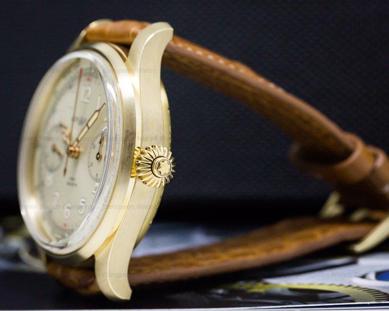 Montblanc 116243 1858 Monopusher Chronograph Tachymeter Bronze LIMITED UNWORN