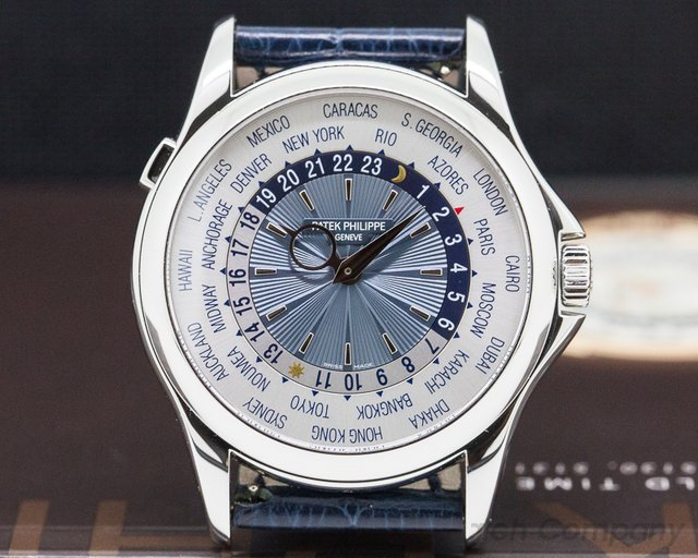 Patek Philippe 5130P-001 World Time Platinum