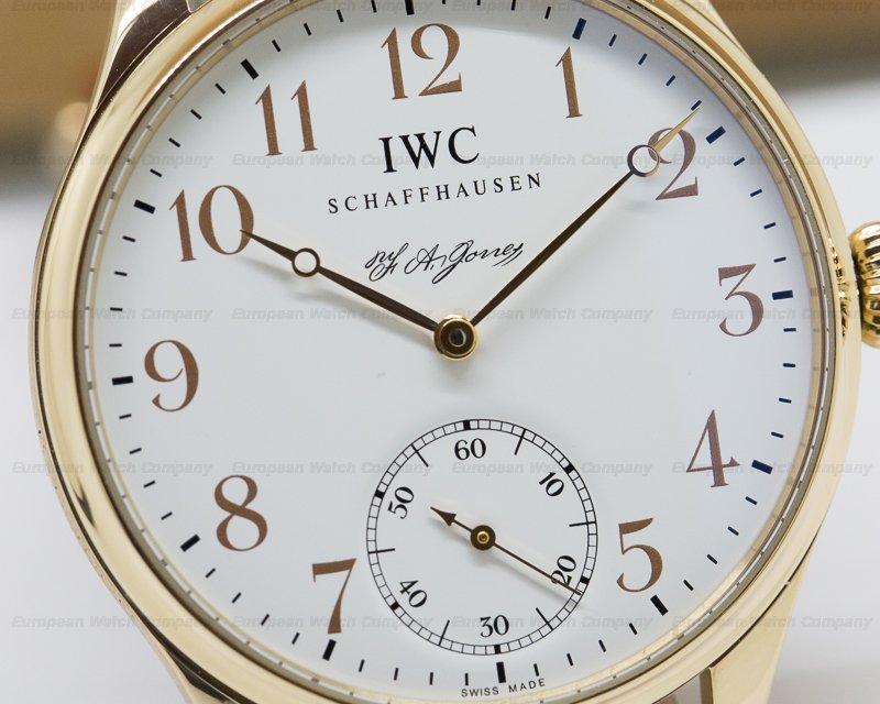 IWC IW544201 Portuguese FA Jones Limited Edition 18K Rose Gold