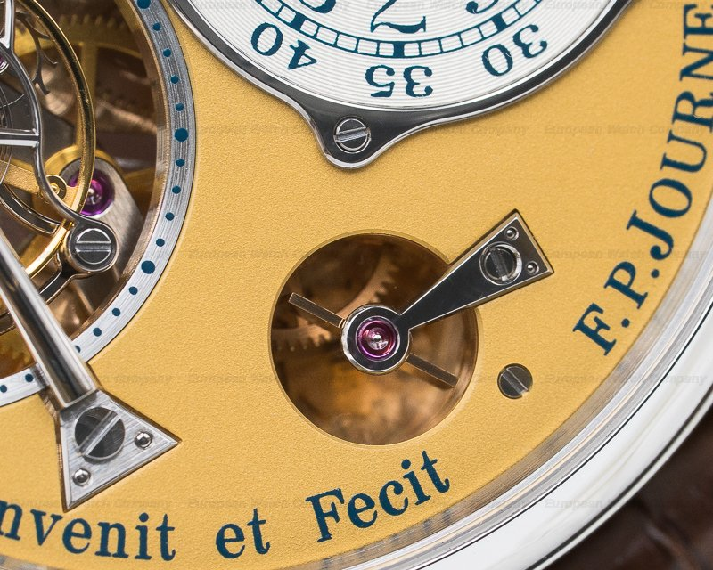 F. P. Journe Tourbillon Steel Tourbillon Souverain STEEL 38MM LIMITED TO ONLY 38 PIECES
