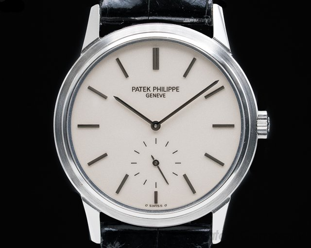 Patek Philippe 3718 Calatrava 150 Commemorative Limited Edition SS